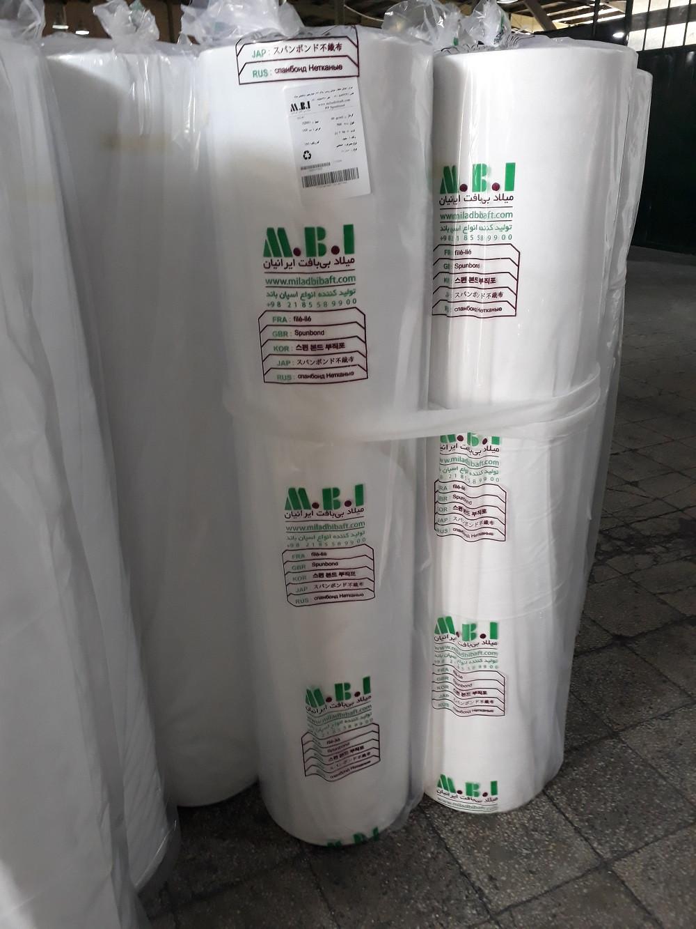 Antibacterial spunbond fabric