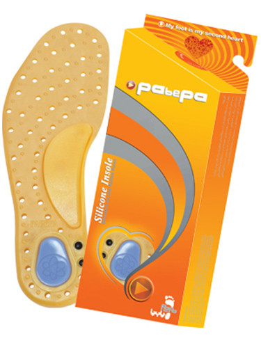 Anti Bacterial Silicone Foot Insoles (Pabepa)