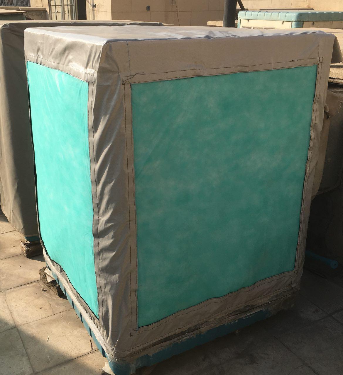 Antibacterial air filter of evaporative cooler