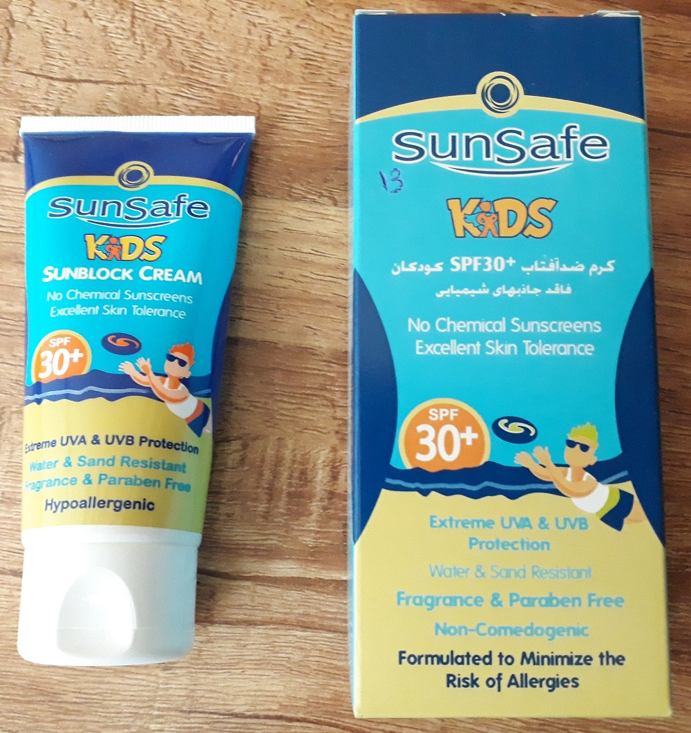 Sunblock Cream No Chemical Sunscreens SPF KIDS (SPF:30)