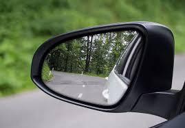 Nano structured chromic coated mirror