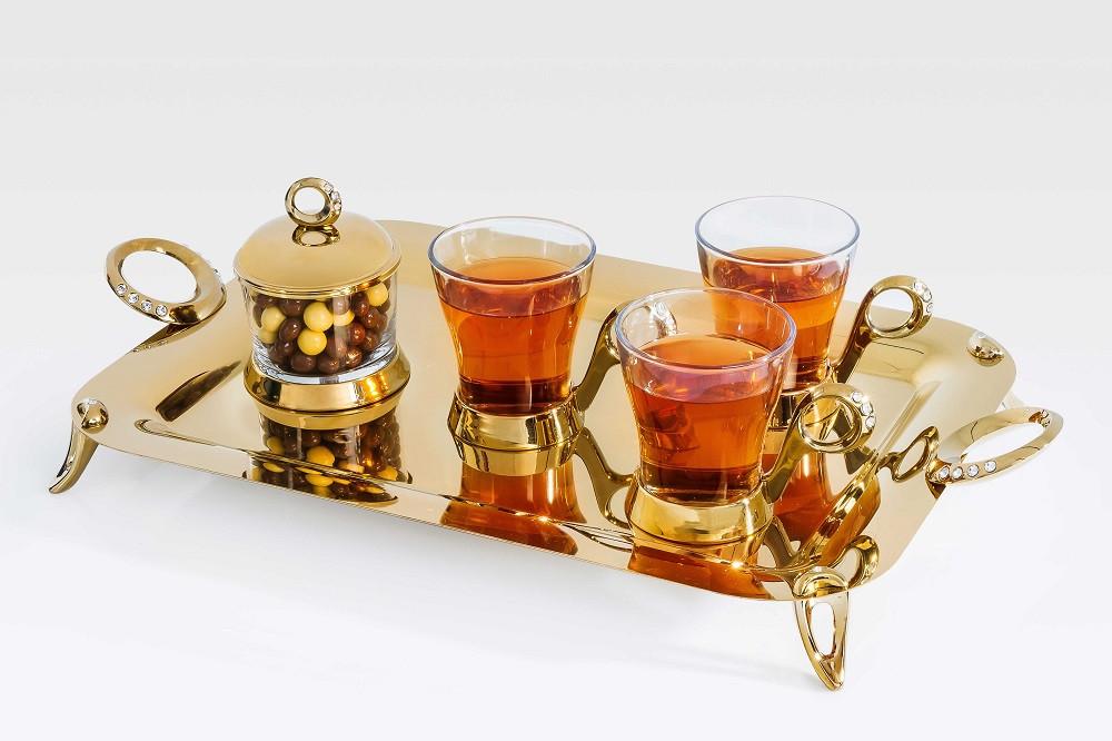 Golden Tea Set