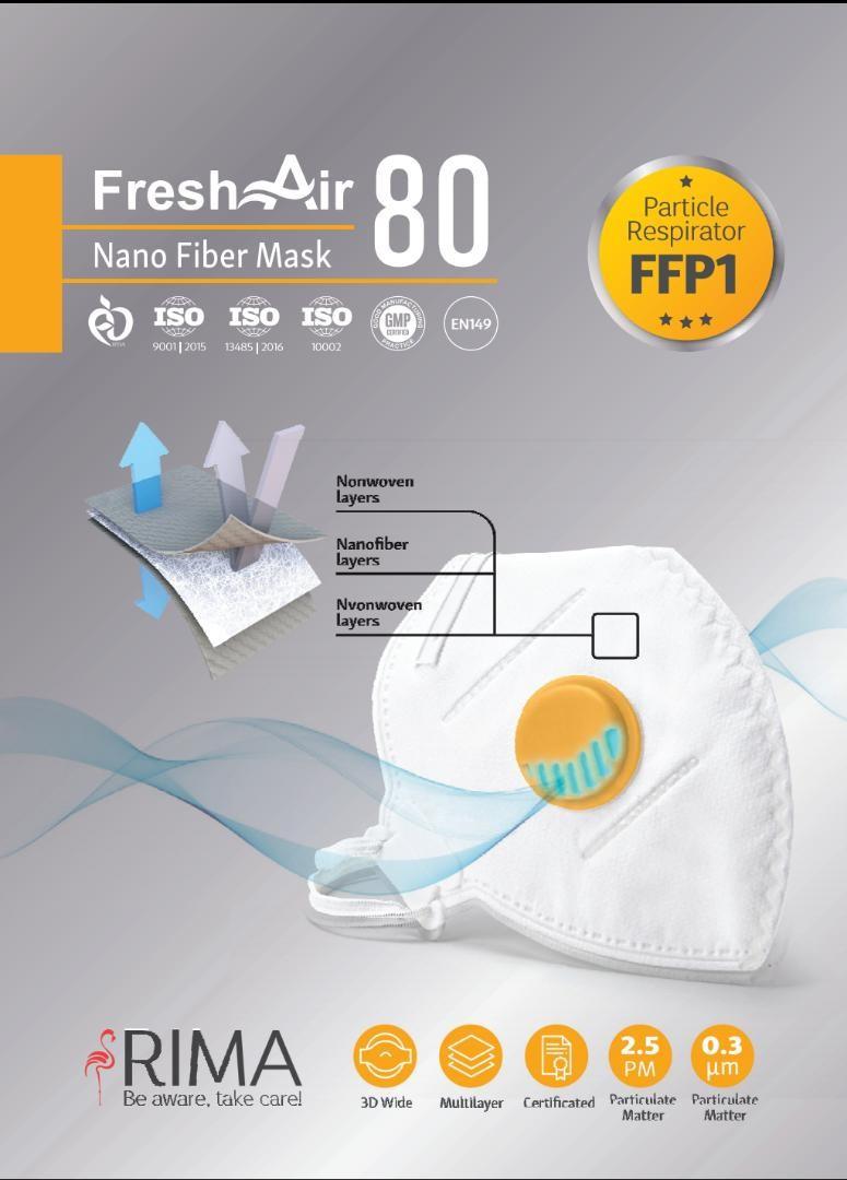 Respiratory mask FFP1