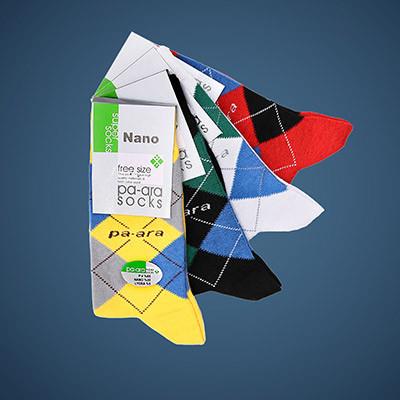 Pa-Ara Antibacterial Socks