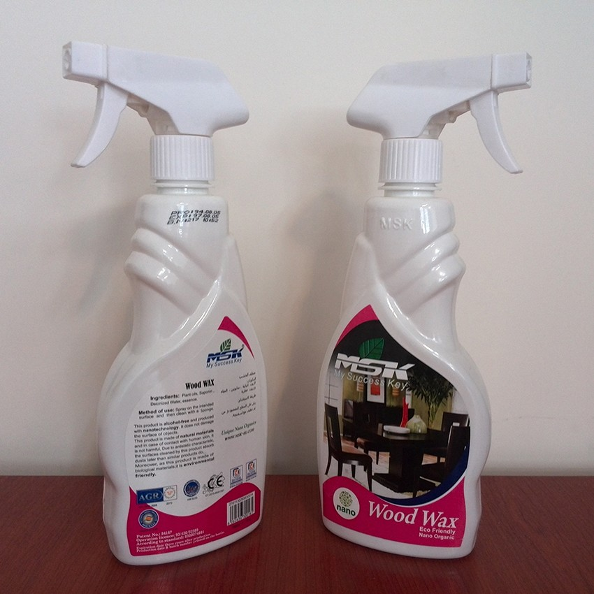 Wood Cleaner and Polisher Spray