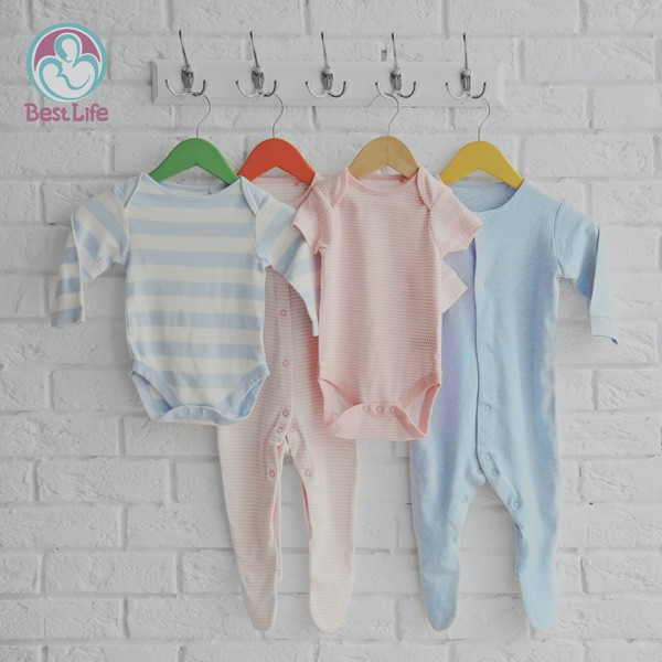 Antibacterial cotton baby clothes