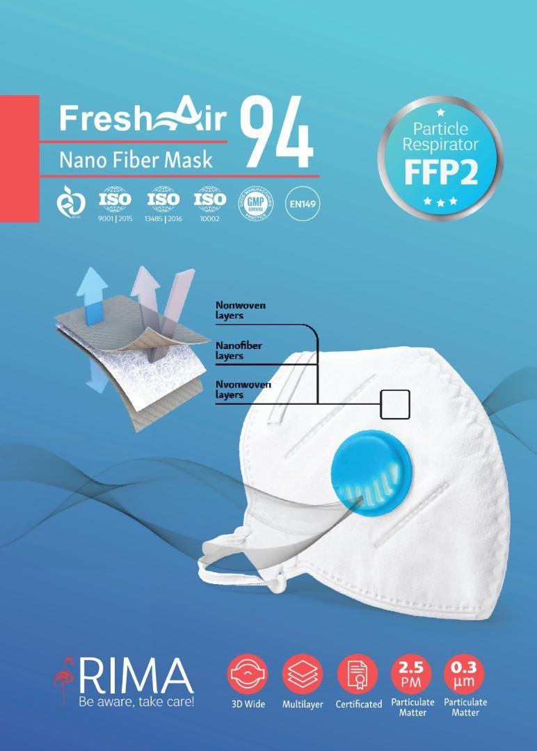 Respiratory Mask FFP2