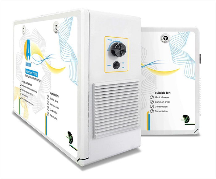 Air Purifier and Disinfectant Based on Cold Plasma