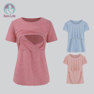 Antibacterial cotton breastfeeding clothes