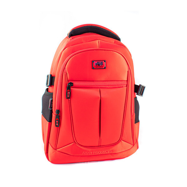 Bags and backpacks with antibacterial external surface